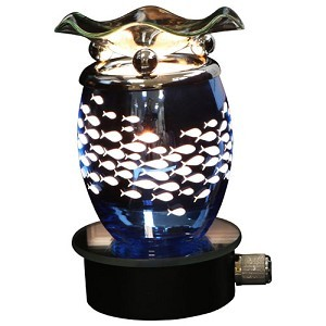 BLUE PLUG IN OIL WARMER