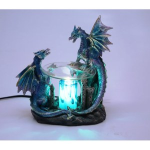 BLUE DRAGON OIL WARMER