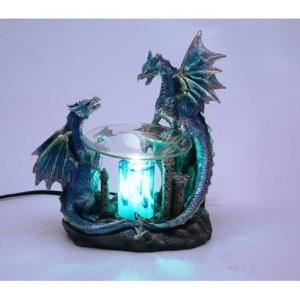 BLUE DRAGON OIL WARMER