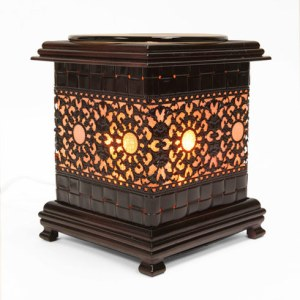 METAL ASIAN SUN STYLE OIL WARMERS