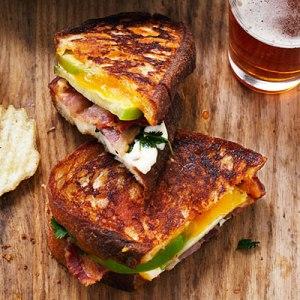 Cheese Sandwich In Season: Veggie Tsunami FS= Randy Mon