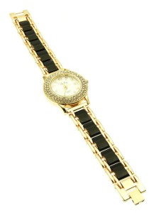 CYSTAL BEAD EPOXY FASHION WATCH