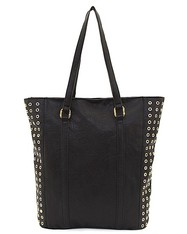 Eyelet Accent Tote, Sale price