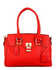 Classic Red Satchel -On Sale for
