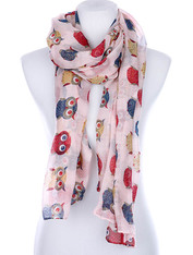Owl scarf comes in different colors