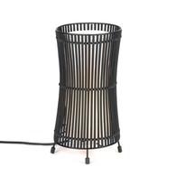 Concave Metal Slat Lamp