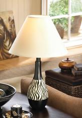Zebra Lamp