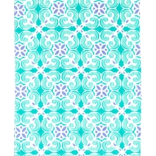 Sea Tile Beach Towel