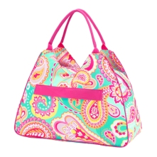 Summer Paisley Beach Tote