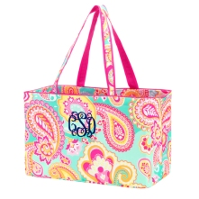 Summer Paisley Ultimate Tote