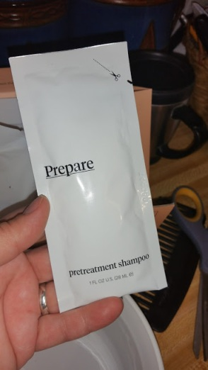 4 pretreatment shampoo